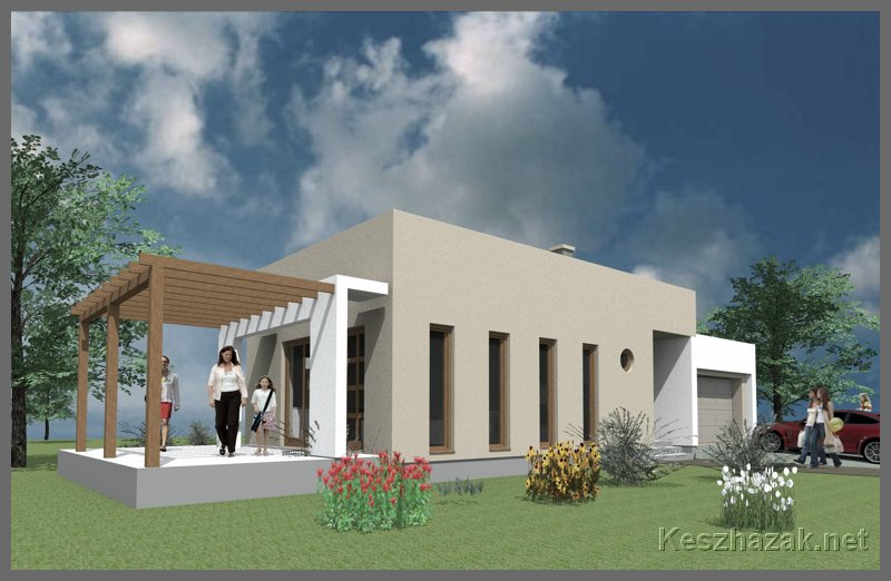 Minimal könnyűszerkezetes ház